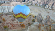 Stock Video Footage of Hot air balloon at cappadocia