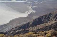 Dante's Peak Death Valley - stock photo
