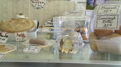 The deli and bakery aisle (2 of 3) Stock Footage