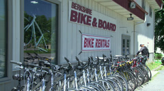 Bike shop (3 of 6) Stock Footage