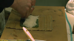 The making of Sushi (1 of 6) Stock Footage