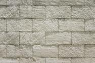 White stone bricks wall Stock Photos