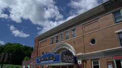 Theater and arts center (1 of 2) Stock Footage