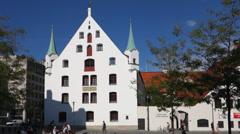 Munich city museum Stock Footage