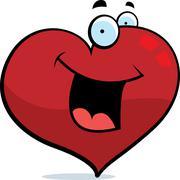 Heart Smiling - stock illustration