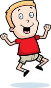 Stock Illustration of Boy Jumping