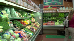 Grocery shopping (7 of 7) Stock Footage