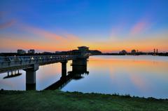 Putrajaya Dam Stock Photos