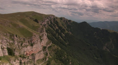 Canyon of the bird eye view Stock Footage
