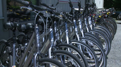 Bike shop (4 of 6) Stock Footage