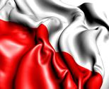 Stock Illustration of flag of poland