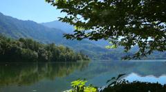 Lake kochel, upper bavaria Stock Footage