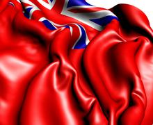 British red ensign Stock Illustration
