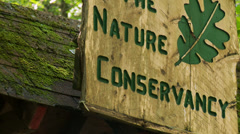 Nature Conservancy Trail (7 of 9) Stock Footage