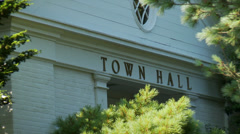 Weston town hall (2 of 5) - stock footage