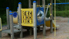 Secluded playground (1 of 2) Stock Footage