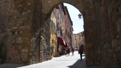 Views of a Montepulciano (11 of 19) - stock footage