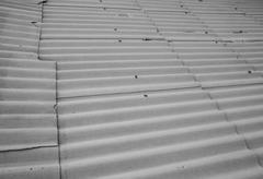 asbestos slate as background - stock photo