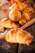 mini pastry - stock photo