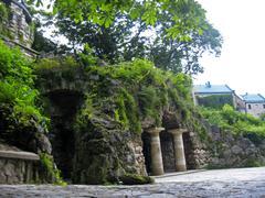 dianas grotto. pyatigorsk landmarks, the northern caucas - stock photo