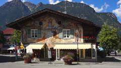 Garmisch-partenkirchen Stock Footage