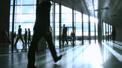 Business group take a look around potential new office space. High quality HD Stock Footage