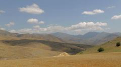 Armenian desert landscape time lapse - stock footage