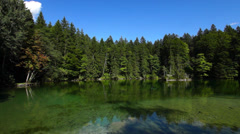 Badersee lake near garmisch-partenkirchen Stock Footage