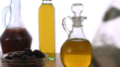 Pouring cooking oil Stock Footage