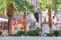 Treasure island hotel and casino  in las vegas Stock Photos
