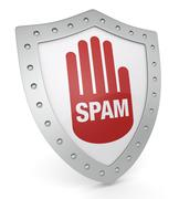 Stock Illustration of concept of spam