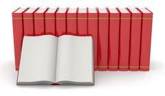 books - stock illustration