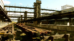 Industrial architecture Stock Footage