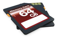 sd card - stock illustration
