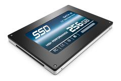 Stock Illustration of solid state drive