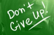 Stock Illustration of don't give up concept