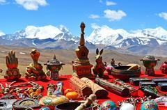 Himalayas. Souvenir of Tibet Stock Photos