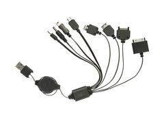 Usb charging plug Stock Photos