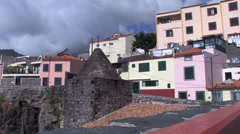 Camara de lobos in madeira Stock Footage