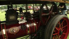 Steam engines 1 Stock Footage