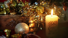 New Year and Christmas Stock Footage