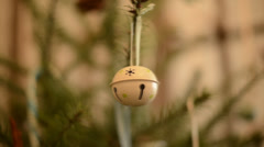 Metal ball ornament Stock Footage