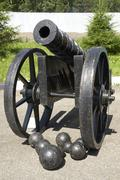 Historical cannon Stock Photos