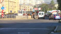 Saint Petersburg cityscape Stock Footage