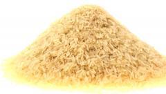 Parboiled rice vertical pan Stock Footage