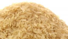Parboiled rice zoom out Stock Footage