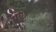 Stock Video Footage of vintage  movies, 1956 on farm