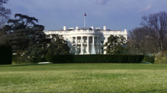 The White House, Washington DC Stock Footage