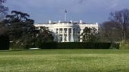 Stock Video Footage of The White House, Washington DC