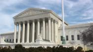 Stock Video Footage of United States Supreme Court building, Washington DC